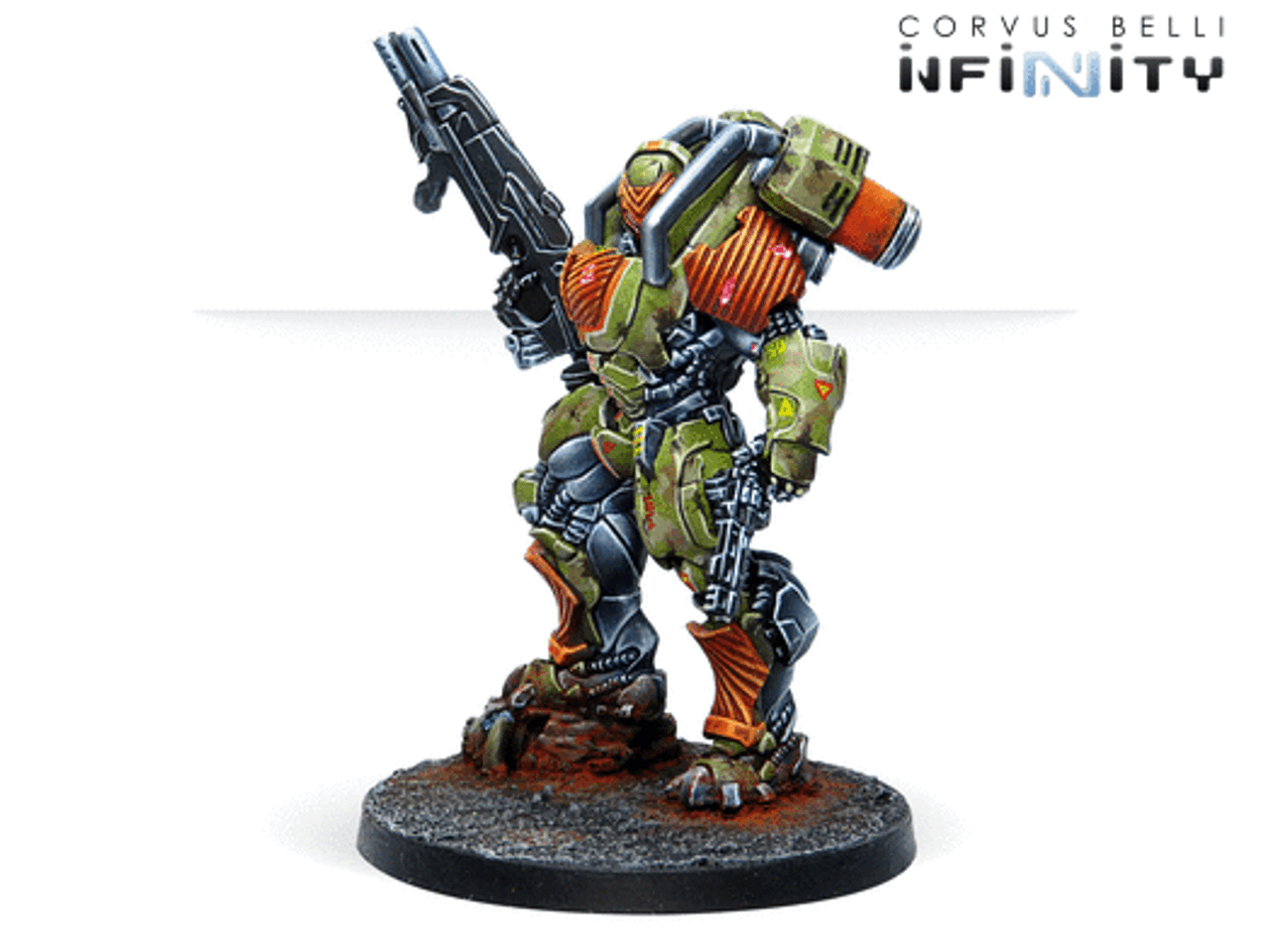 Infinity Mowang Troops Multi Rifle - Yu Jing