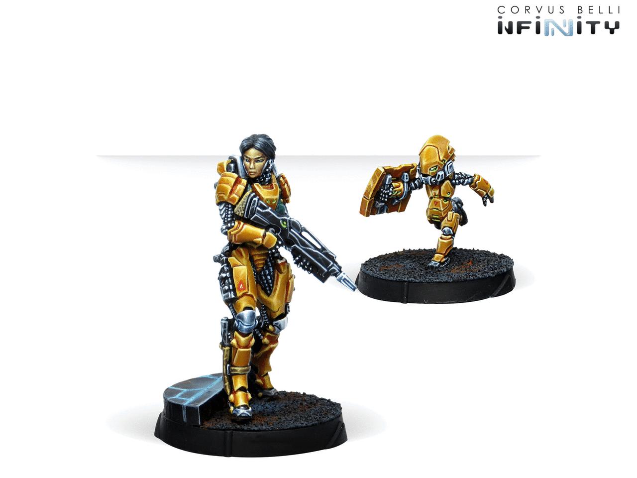 Infinity Tai Sheng, Zuyong Invincibles NCO (Breaker Rifle) - Yu Jing