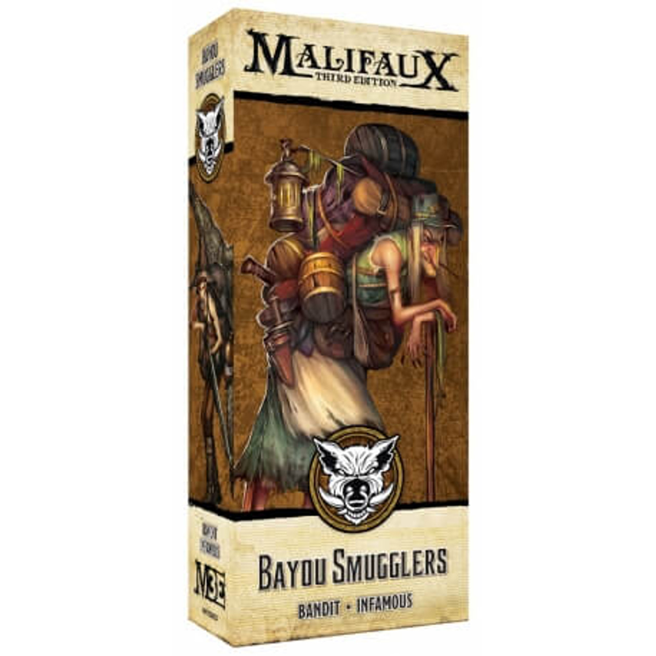 Malifaux Bayou Smugglers - Bayou - M3E