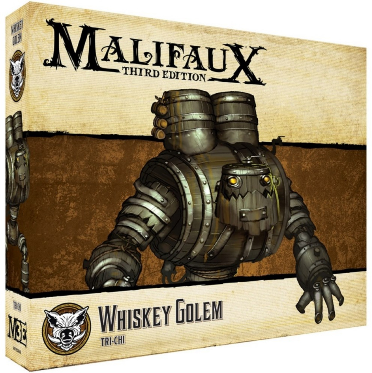 Malifaux Whiskey Golem - Bayou - M3E
