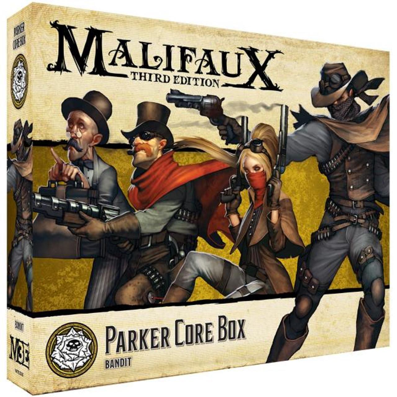 Malifaux Parker Core Box - Outcasts - M3E
