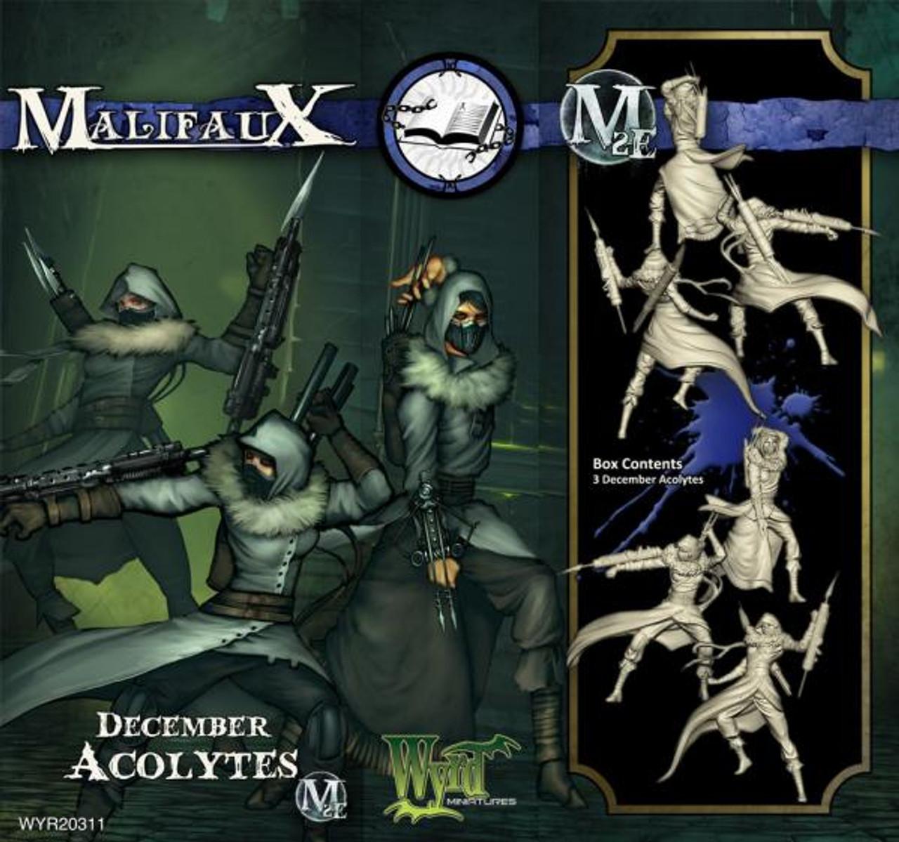 Malifaux December Acolytes - Arcanists - M3E Upgraded