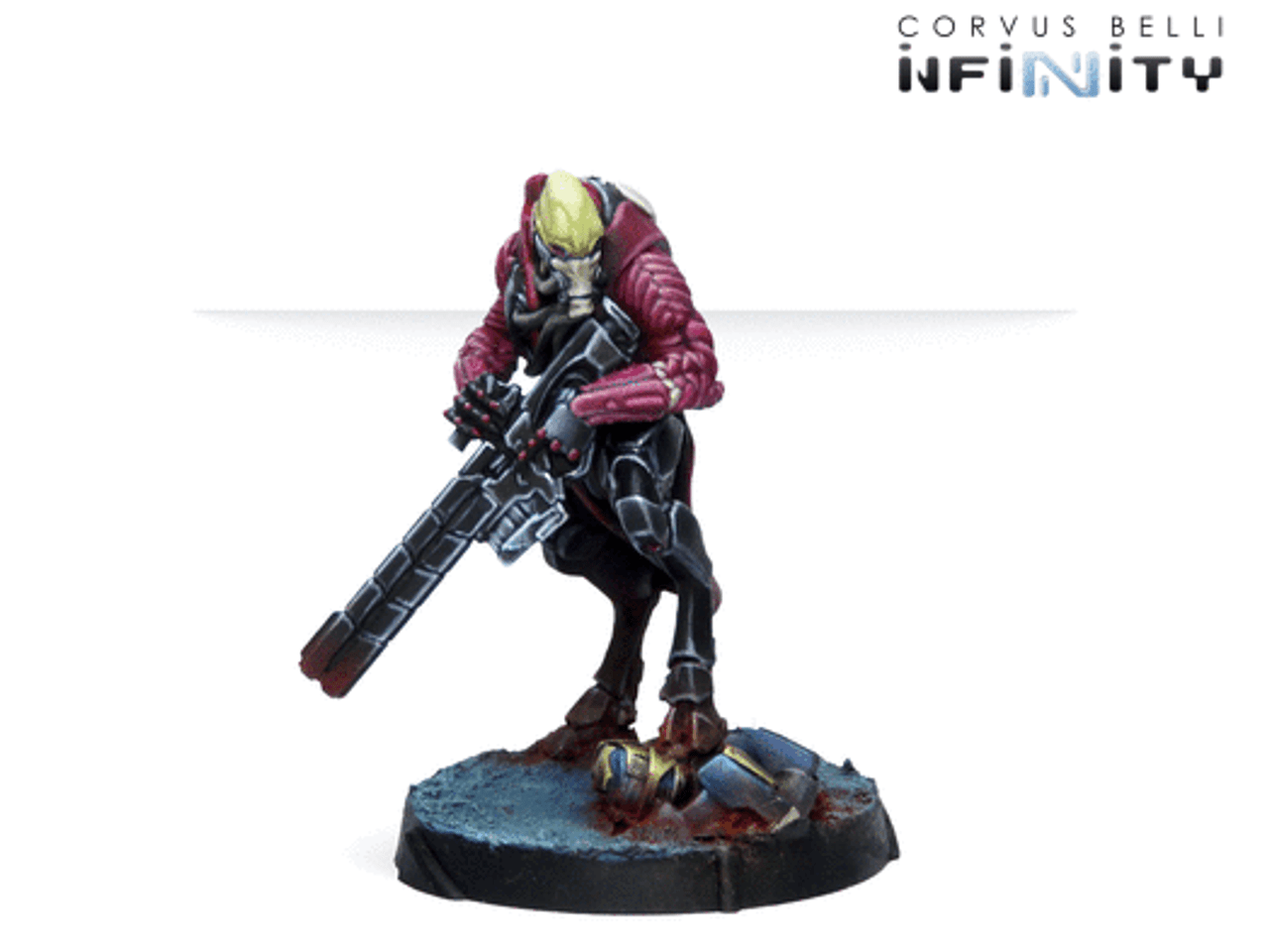 Infinity Shasvastii Mentors (Shock Marksman Rifle) - Combined Army