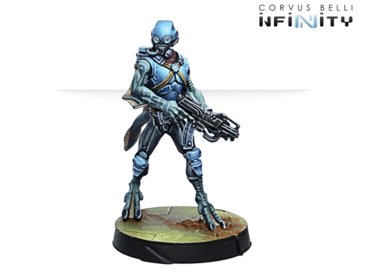 Infinity Helot Militia - PanOceania