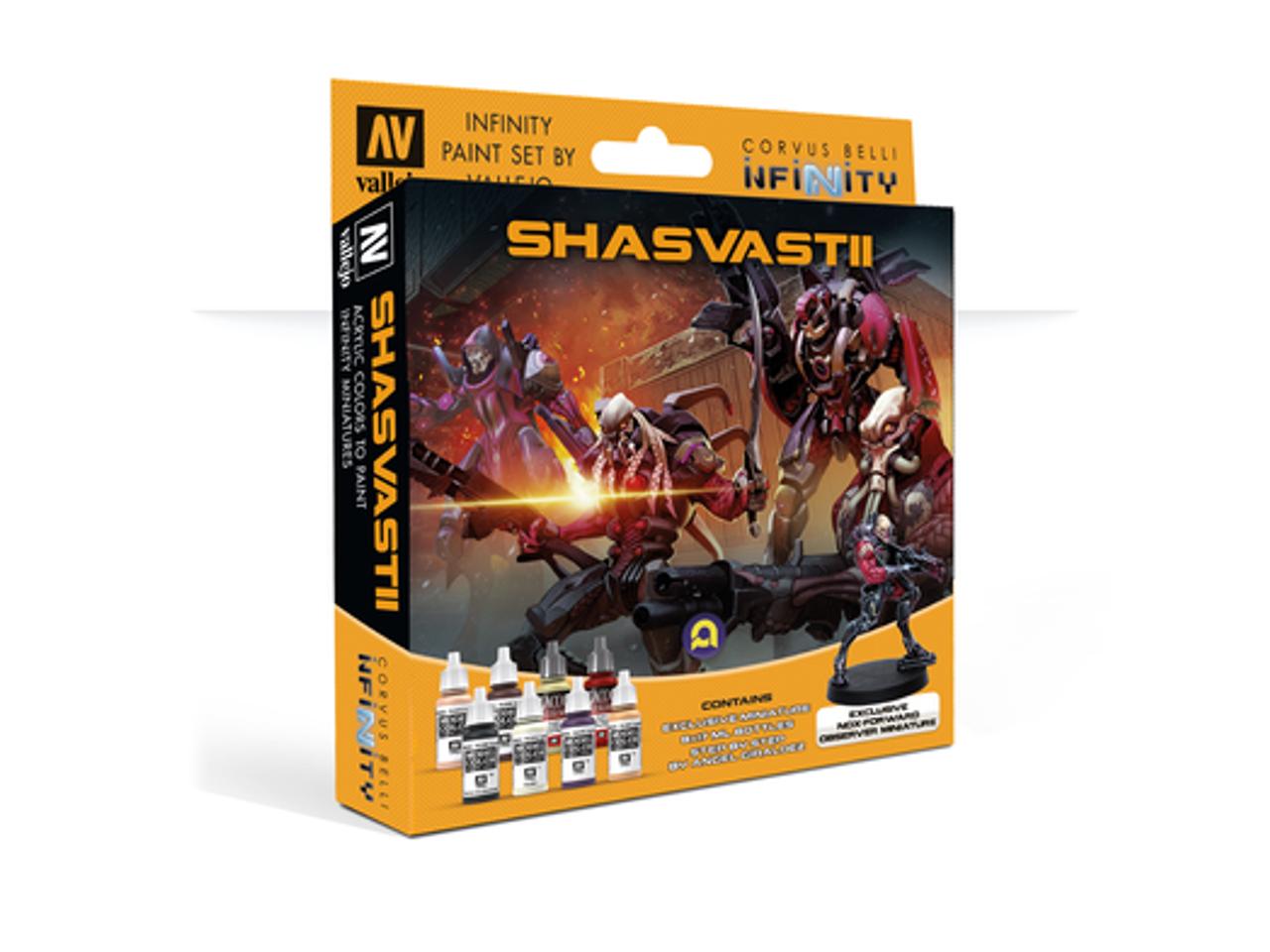 Infinity Shasvasti Model Color Set and Exclusive Mini