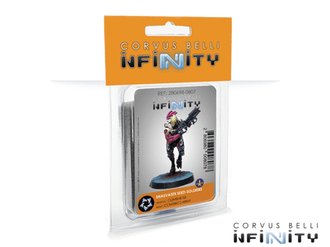 Infinity Shasvastii Seed-Soldiers (Combi Rifle) - Combined Army