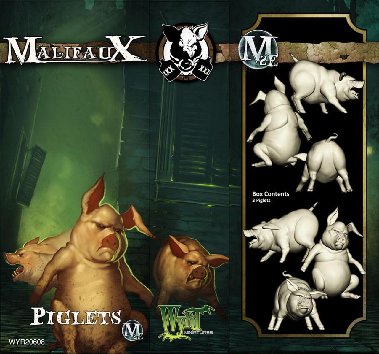 Malifaux Piglets - Bayou - M3E Upgraded