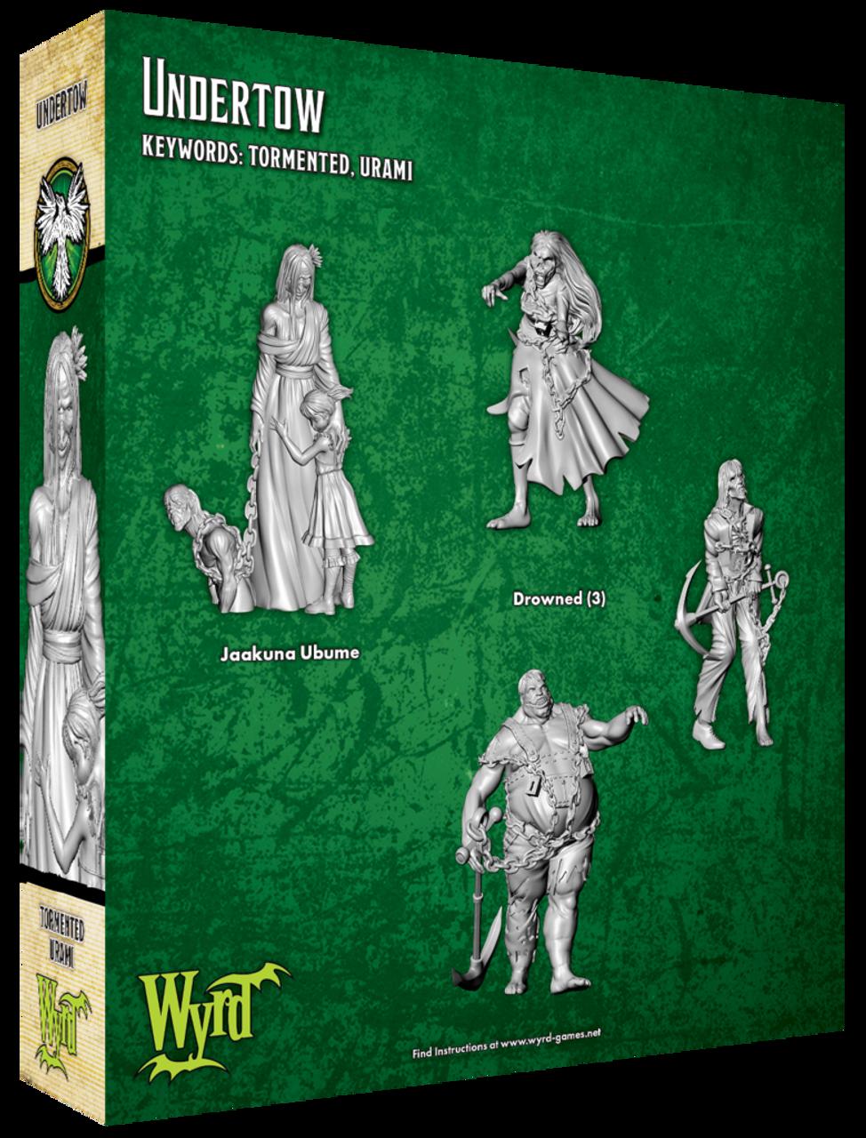 Malifaux Undertow - Resurrectionists - M3E