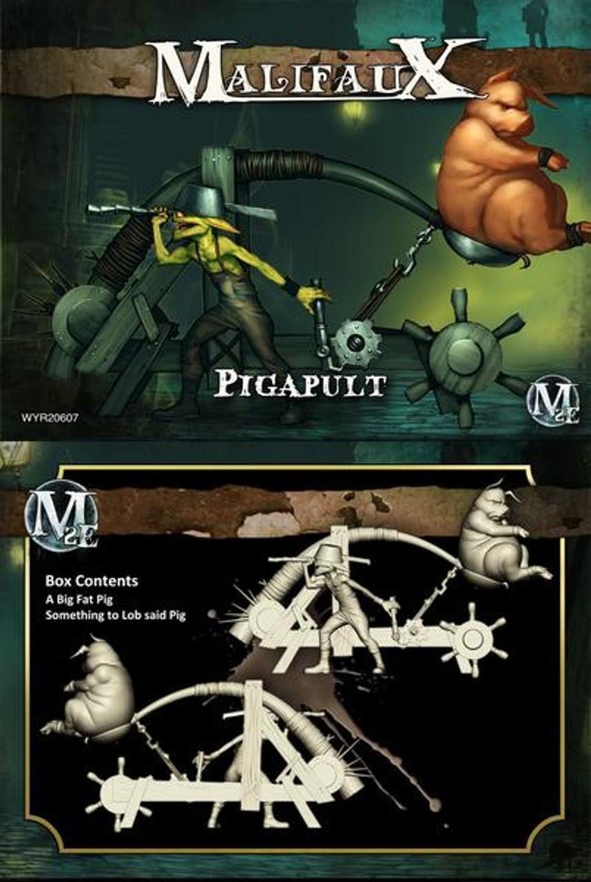 Malifaux Pigapult - Bayou- M3E
