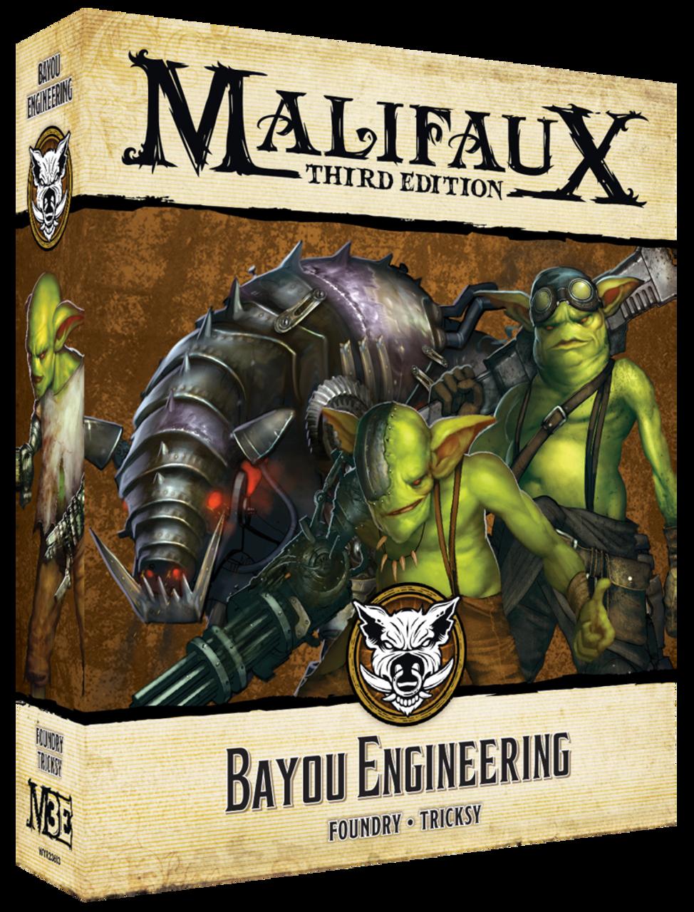 Malifaux Bayou Engineering - Bayou- M3E
