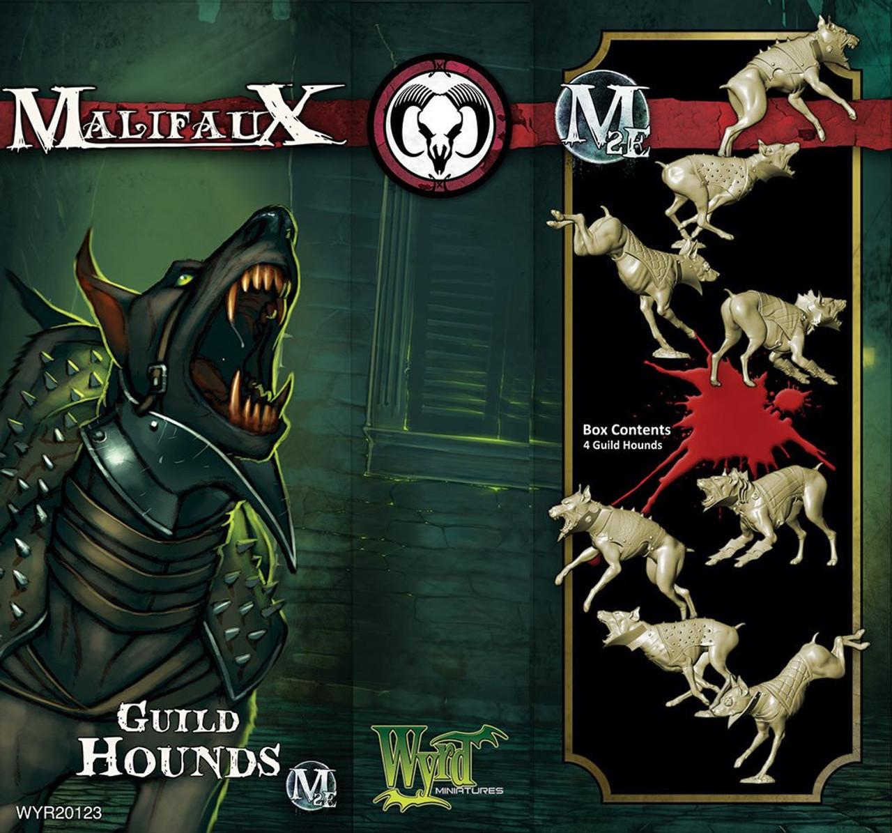 Malifaux Guild Hound - Guild - M3E Upgraded