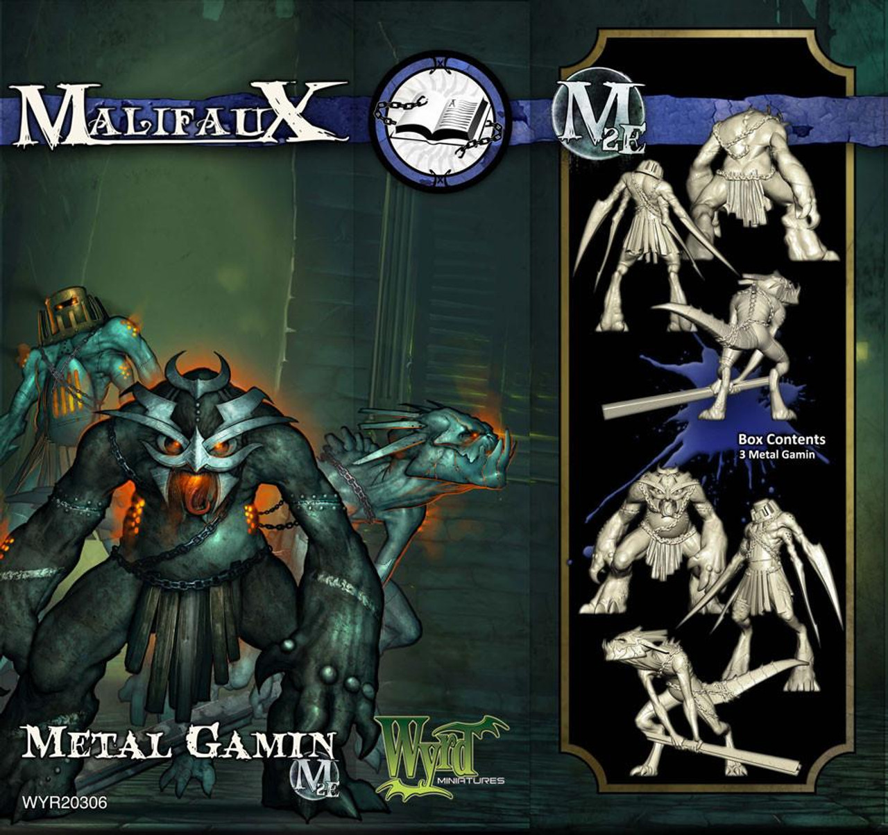 Mailfaux Metal Gamin - Arcanists - M3E Upgraded