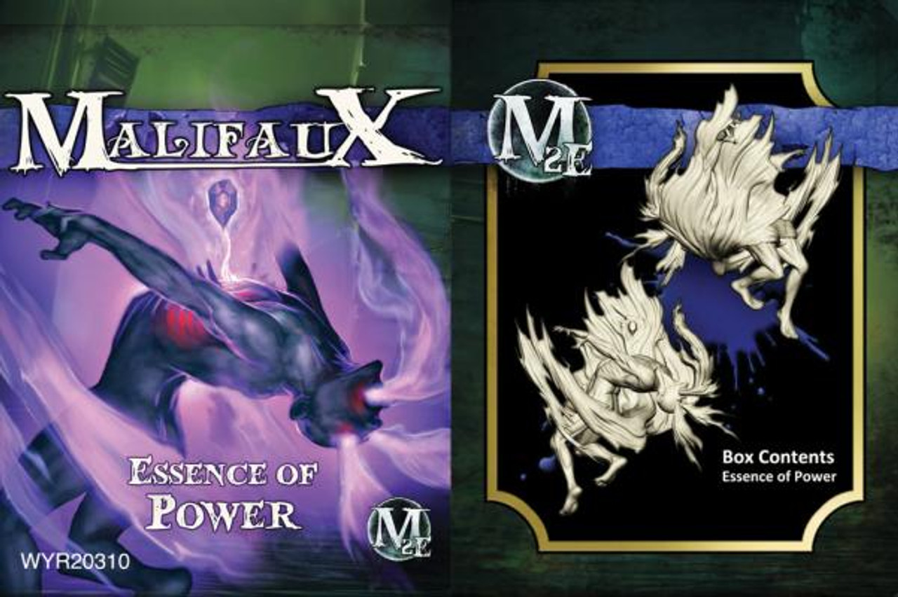 Malifaux Essence of Power - Arcanists - M3E Upgraded