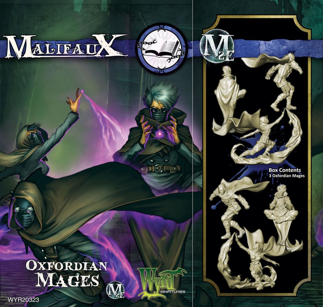 Malifaux Oxford Mages - Arcanists - M3E Upgraded