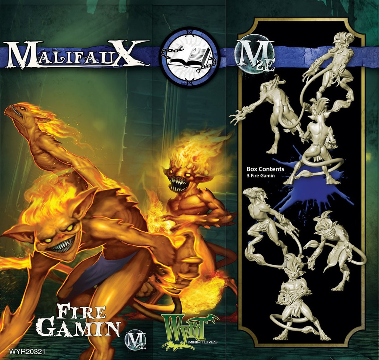 Malifaux Fire Gamin - Arcanists - M3E Upgraded