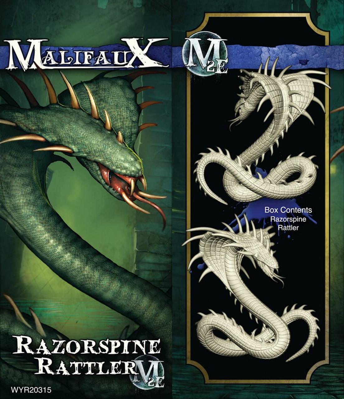 Malifaux Razorspine Rattler - Arcanists - M3E Upgraded