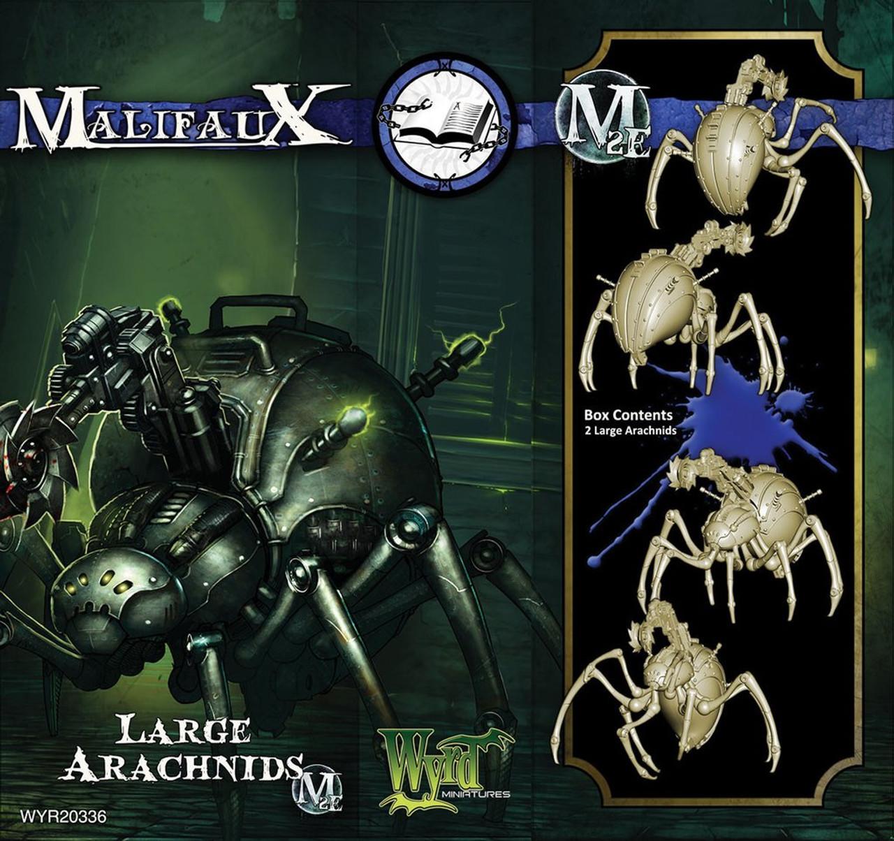 Malifaux Large Arachnid - Arcanists - M3E Upgraded