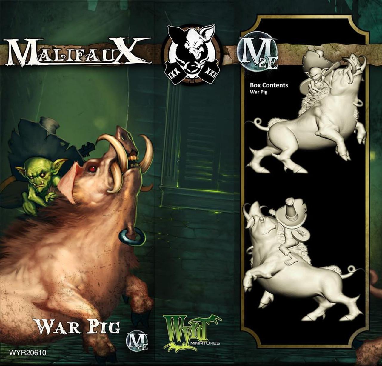 Malifaux War Pig - Bayou - M3E Upgraded