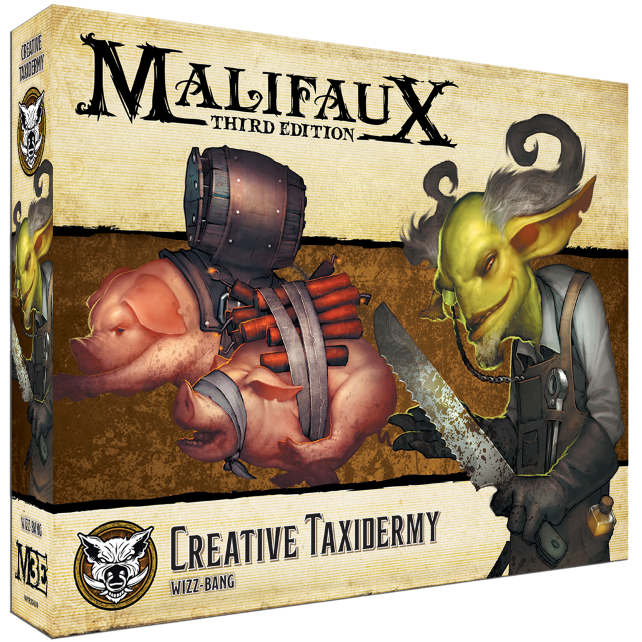Malifaux Creative Taxidermy - Bayou - M3E Upgraded