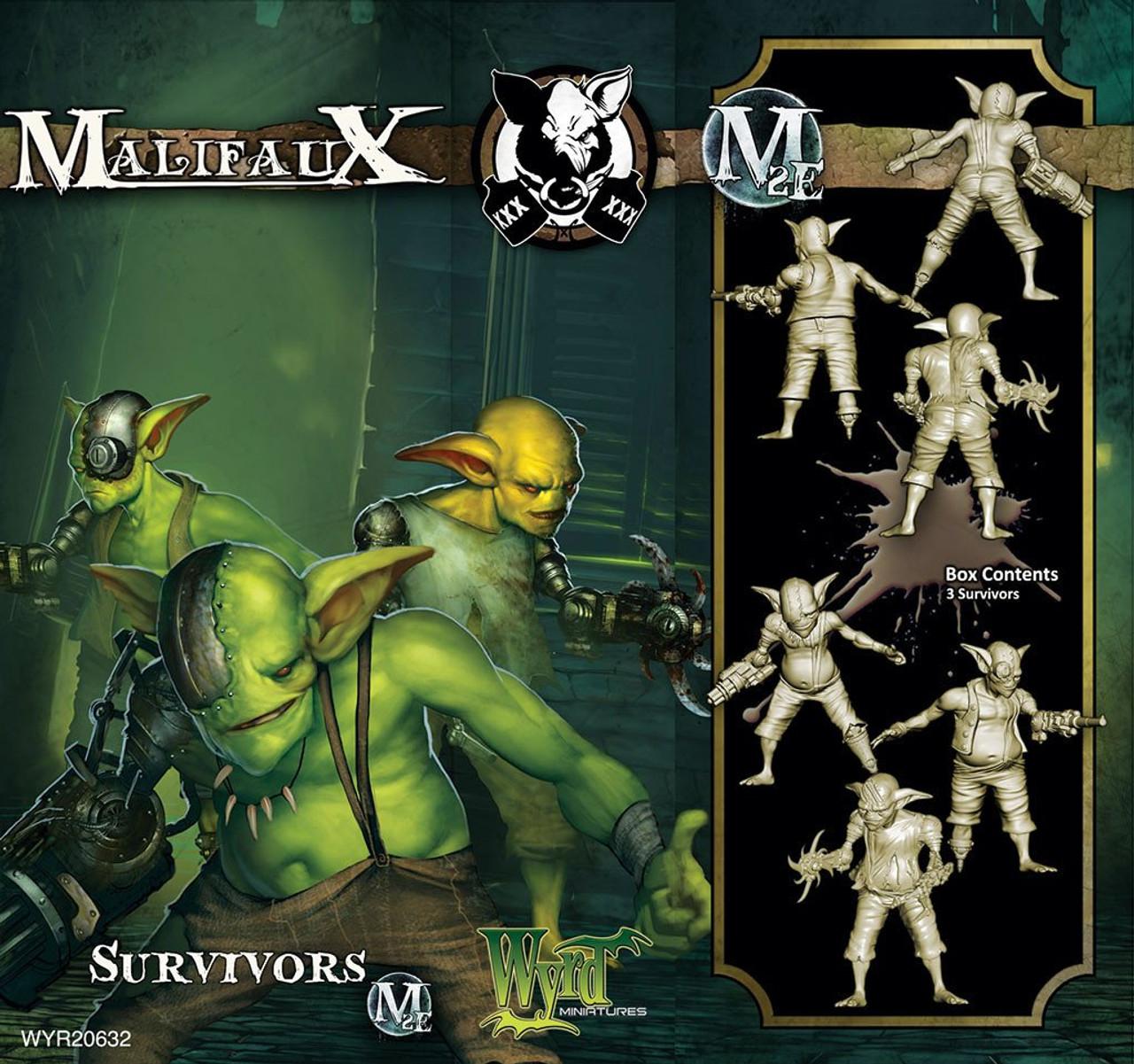 Malifaux Survivors - Bayou - M3E Upgraded