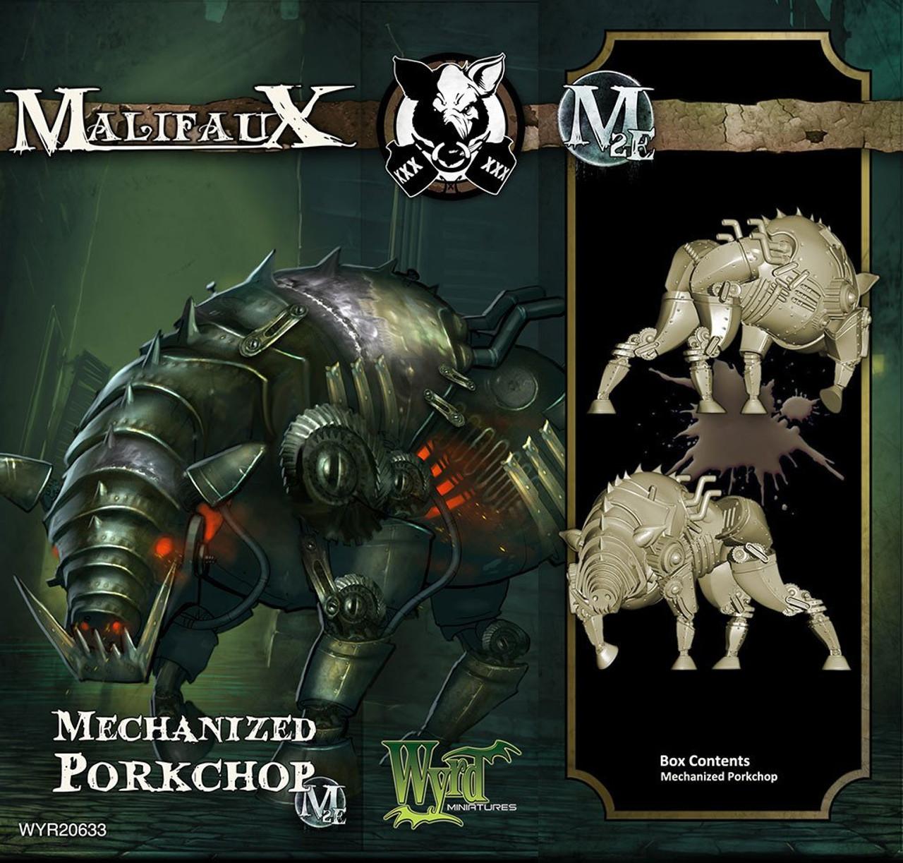 Malifaux Mechanized Porkchop - Bayou - M3E Upgraded