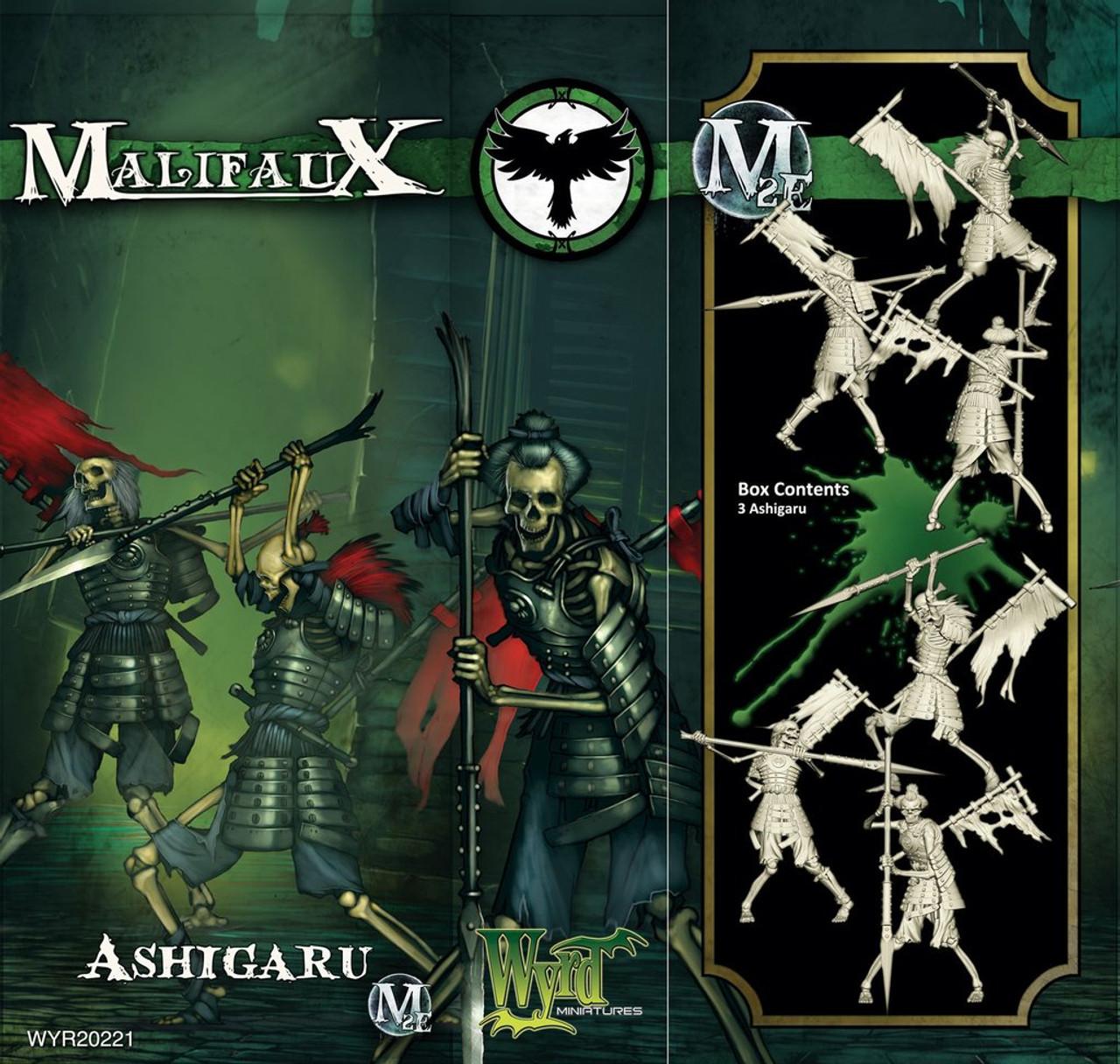 Malifaux Ashigaru - Resurrectionists - M3E Upgraded
