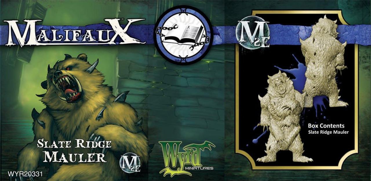 Malifaux Slate Ridge Mauler - Arcanists - M3E Upgraded