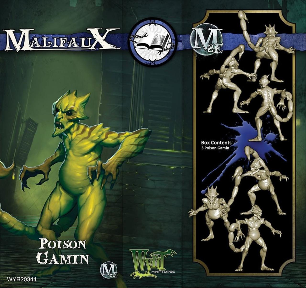 Malifaux Poison Gamin - Arcanists - M3E Upgraded
