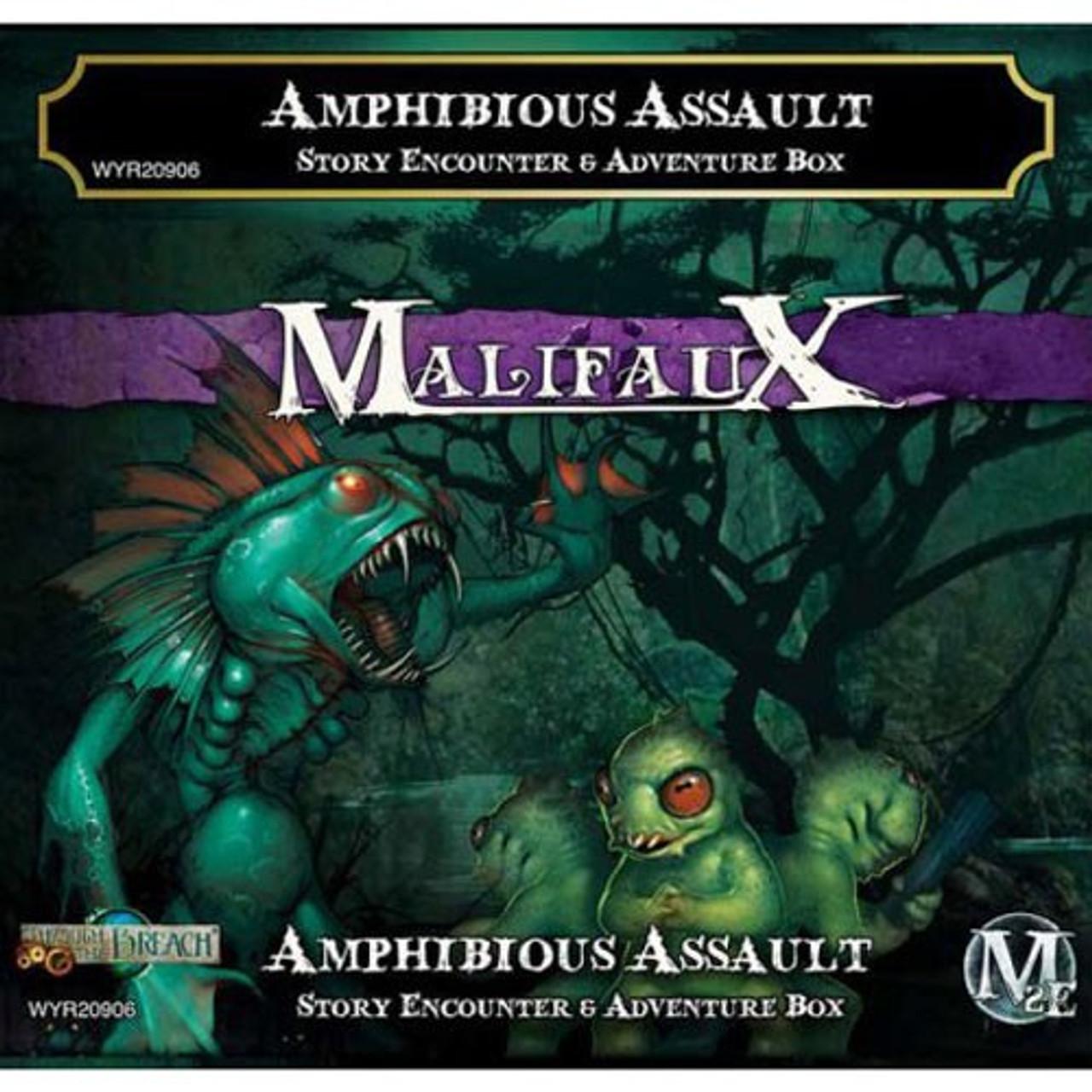 Malifaux Amphibious Assault - Bayou - M3E Upgraded