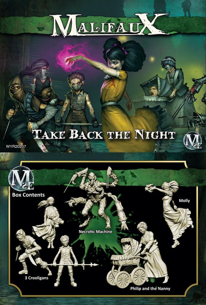 Malifaux Take Back the Night - Resurrectionists - M3E Updated