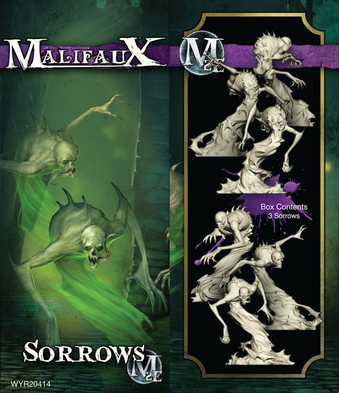 Malifaux Sorrows - Neverborn - M3E Upgraded
