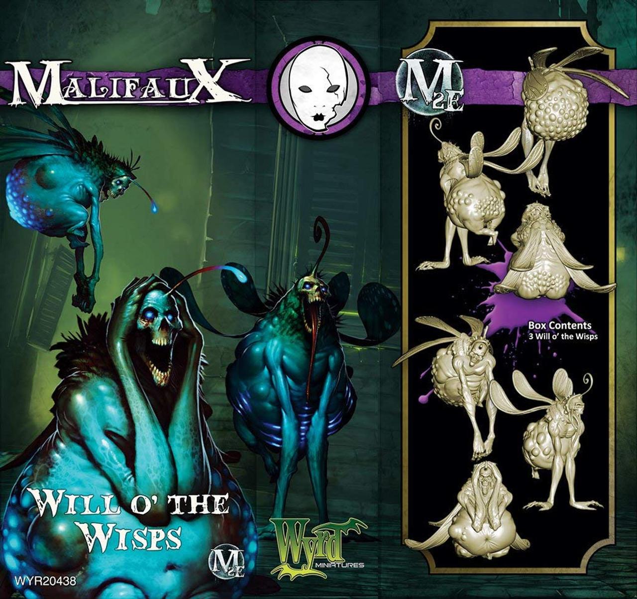 Malifaux Will o' Wisps - Neverborn - M3E Upgraded