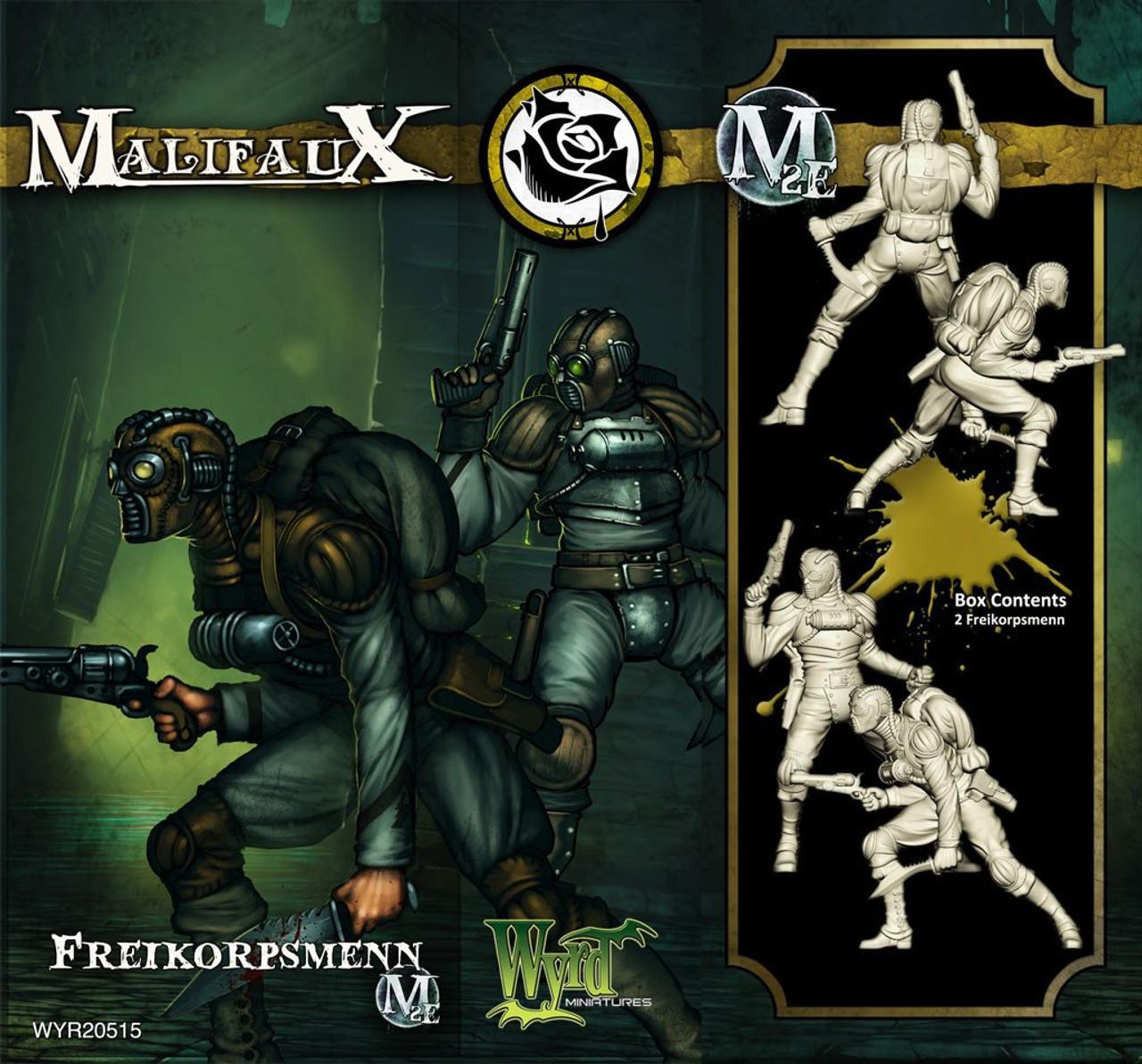 Malifaux Freikorpsmenn - Outcasts - M3E Upgraded
