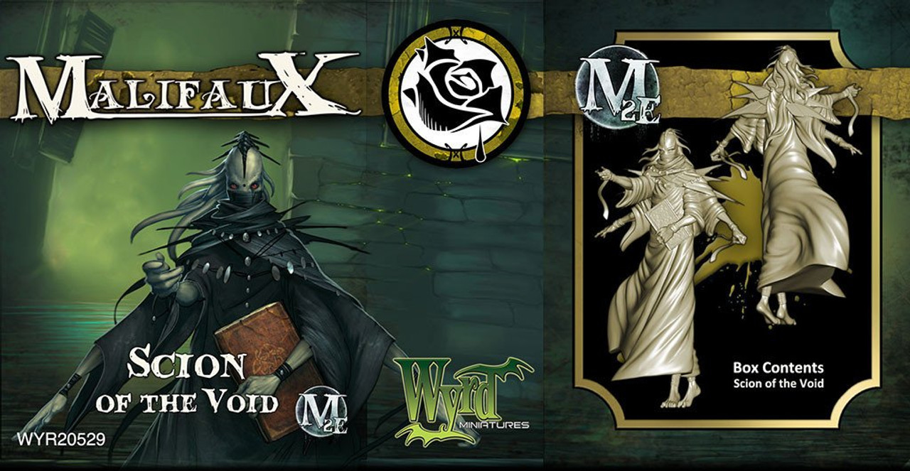 Malifaux Scion Of The Void - Outcasts - M3E Upgraded