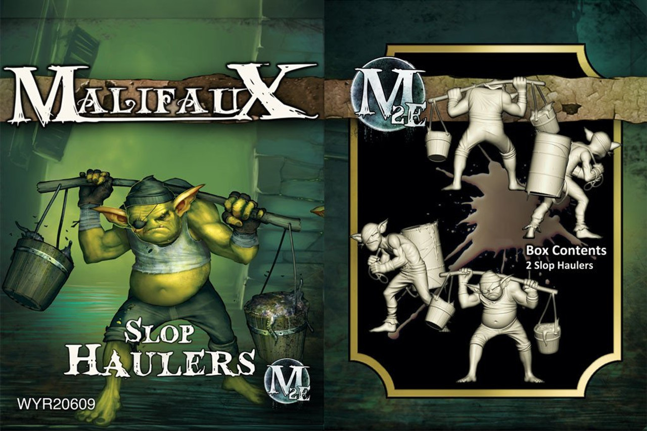 Malifaux Slop Haulers - Bayou - M3E Upgraded