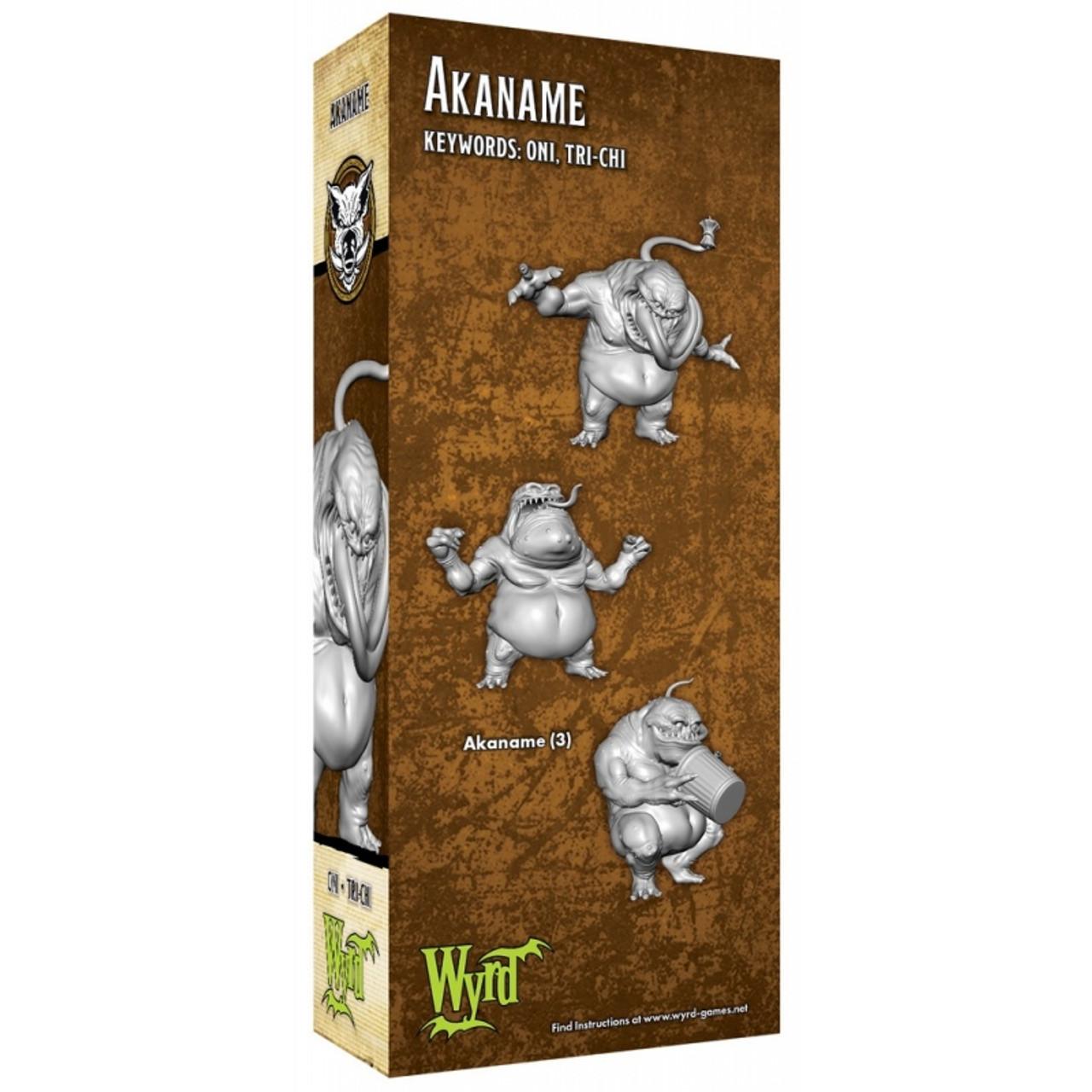 Malifaux Akaname - Bayou - M3E