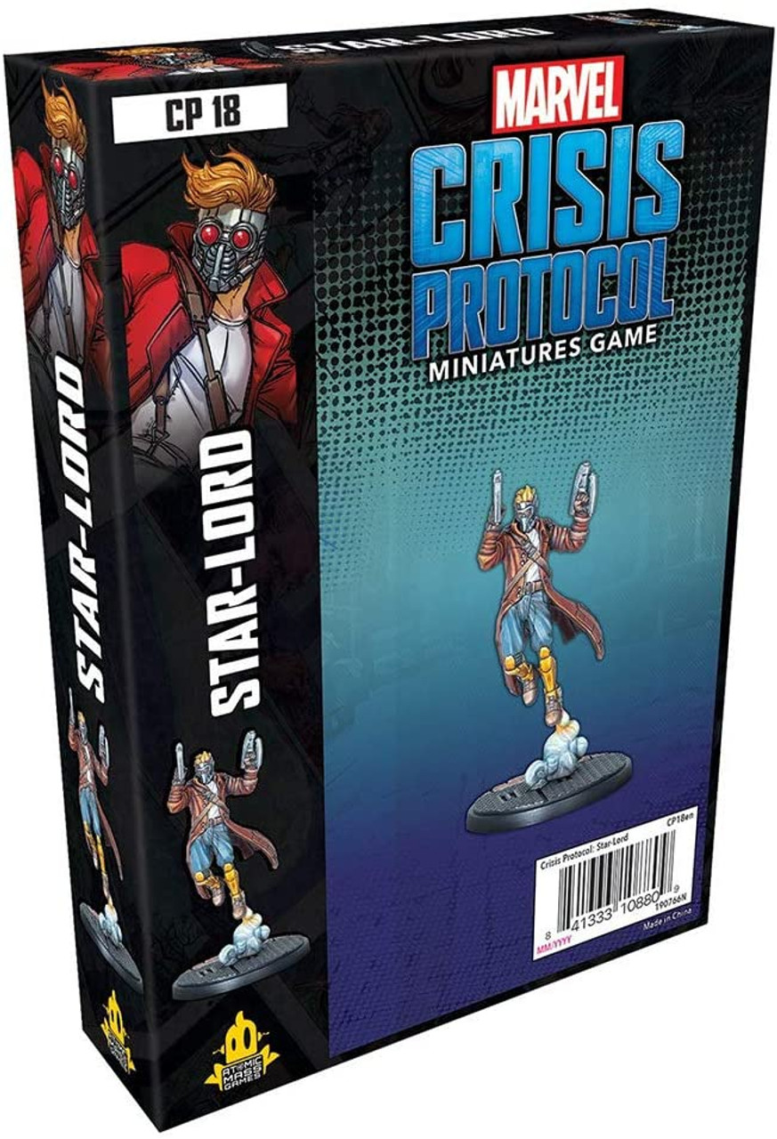 Marvel Crisis Protocol: Starlord Character Pack