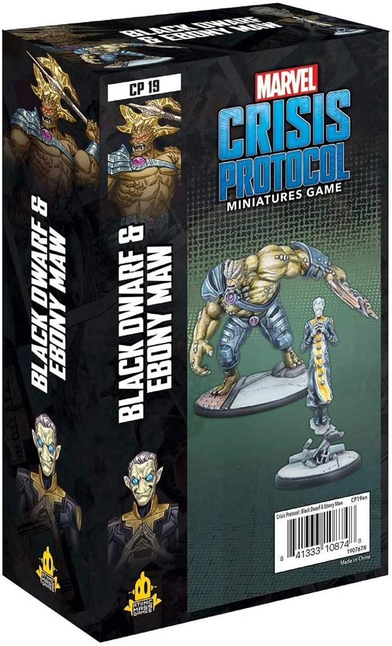 Marvel Crisis Protocol: Black Dwarf and Ebony Maw Character Pack