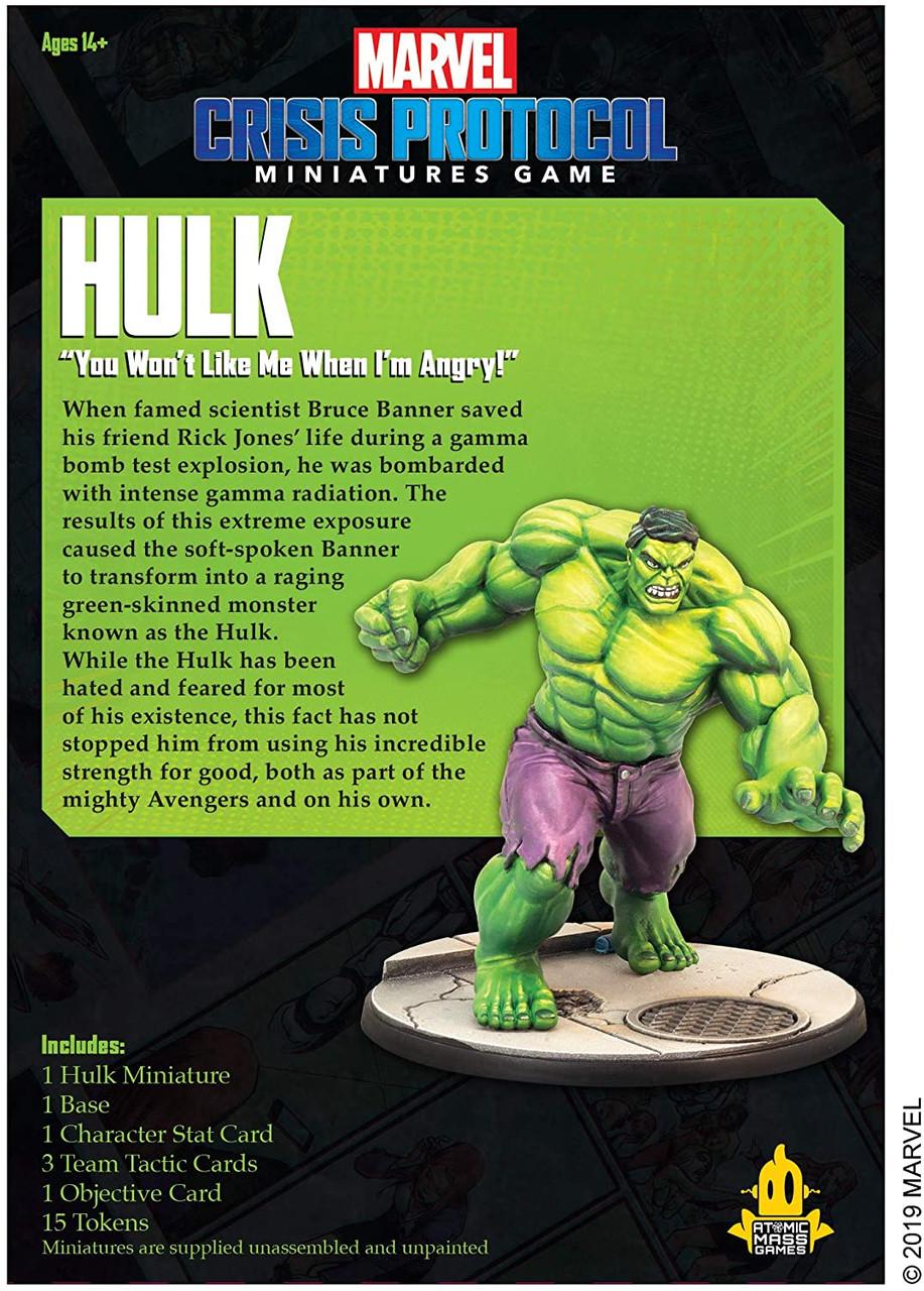 Marvel Crisis Protocol: Hulk Character Pack