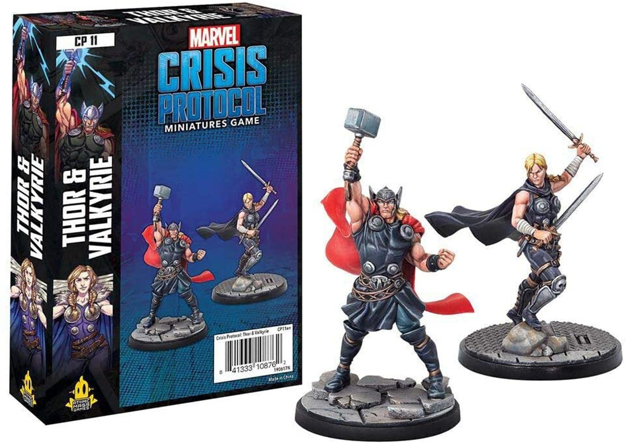Marvel Crisis Protocol: Thor & Valkyrie Character Pack