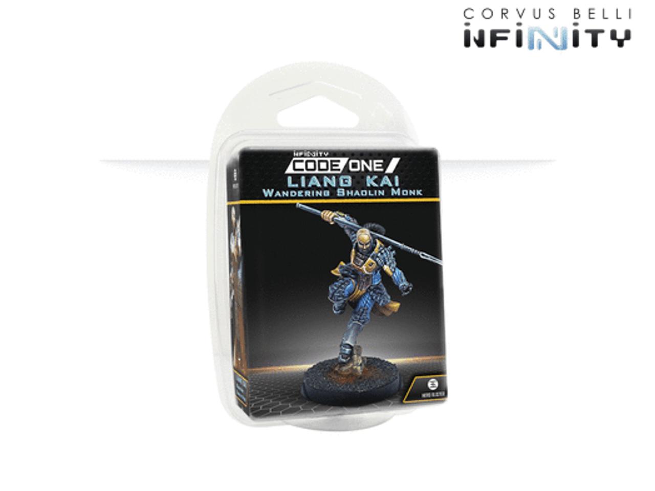 Infinity CodeOne Liang Kai, Wandering Warrior Monk (EXP CCW) - PanOceania / Yu Jing / O-12