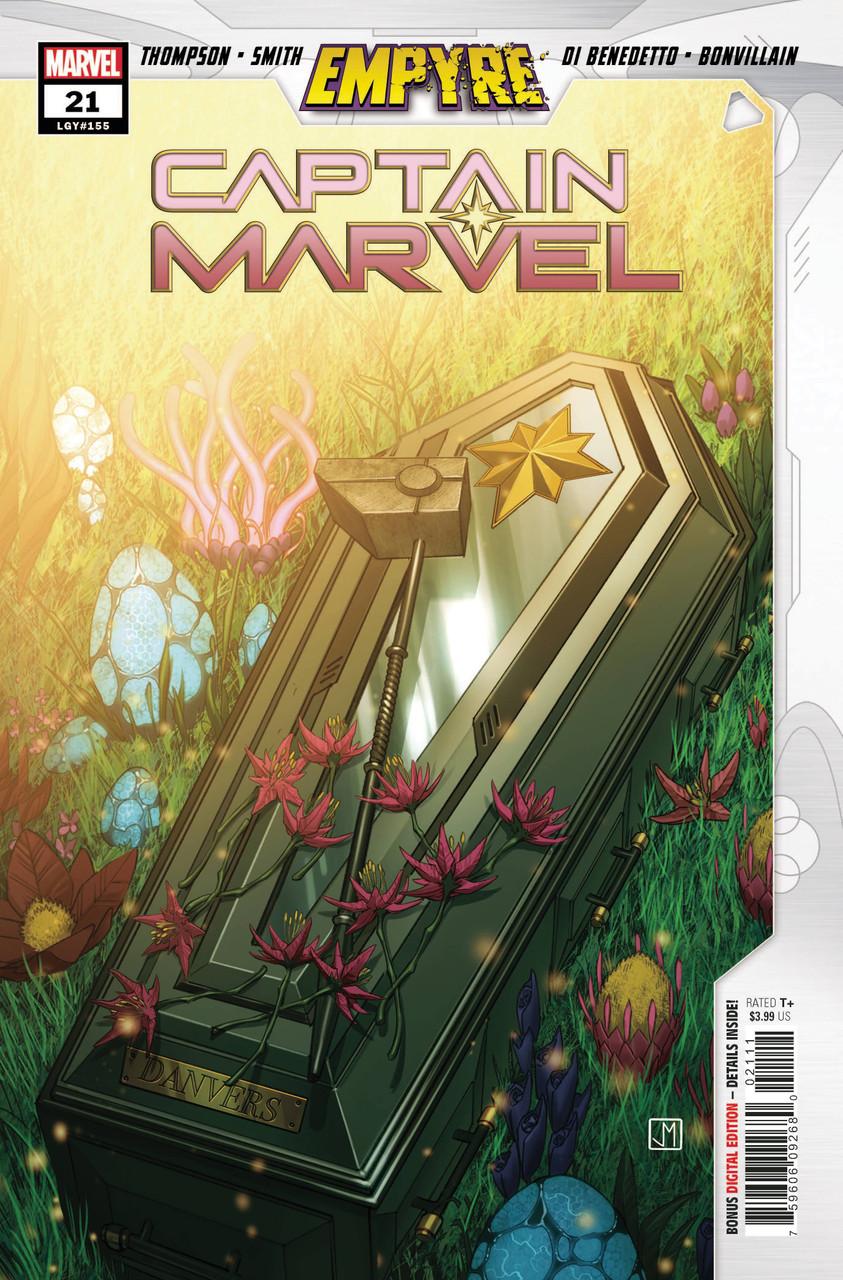 Captain Marvel #21 - Vol 9 - Regular Cover - Jorge Malina