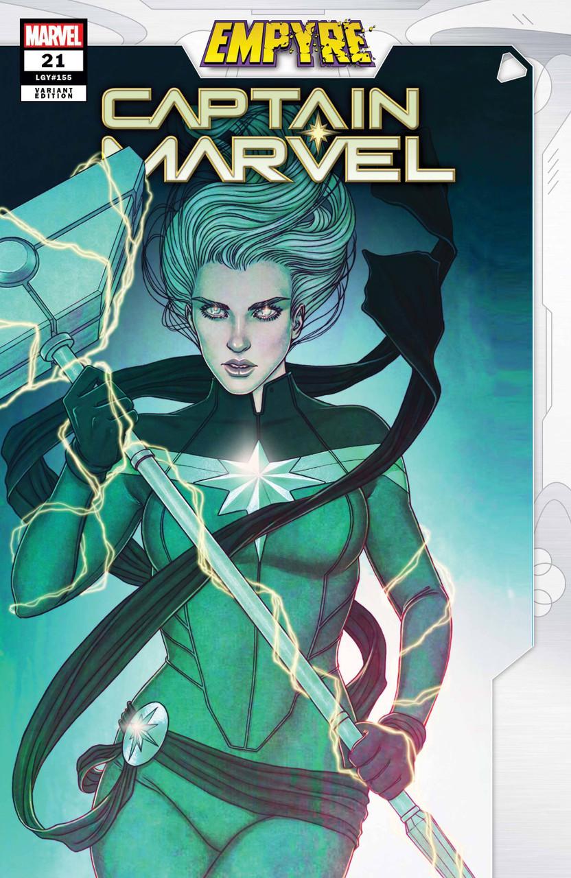 Captain Marvel #21 - Vol 9 - Variant Cover - Jenny Frison Empyre