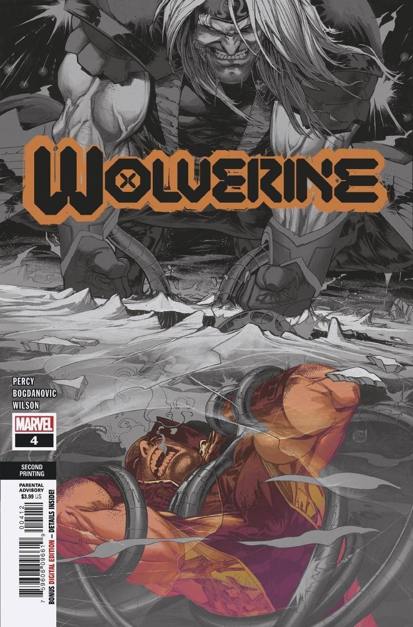 Wolverine #4 - 2nd Printing