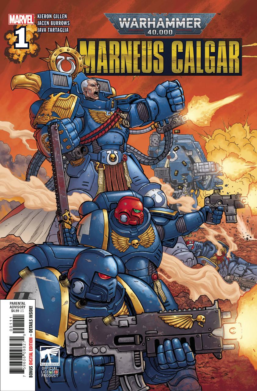 Warhammer 40k Marneus Calgar #1 - Regular Cover