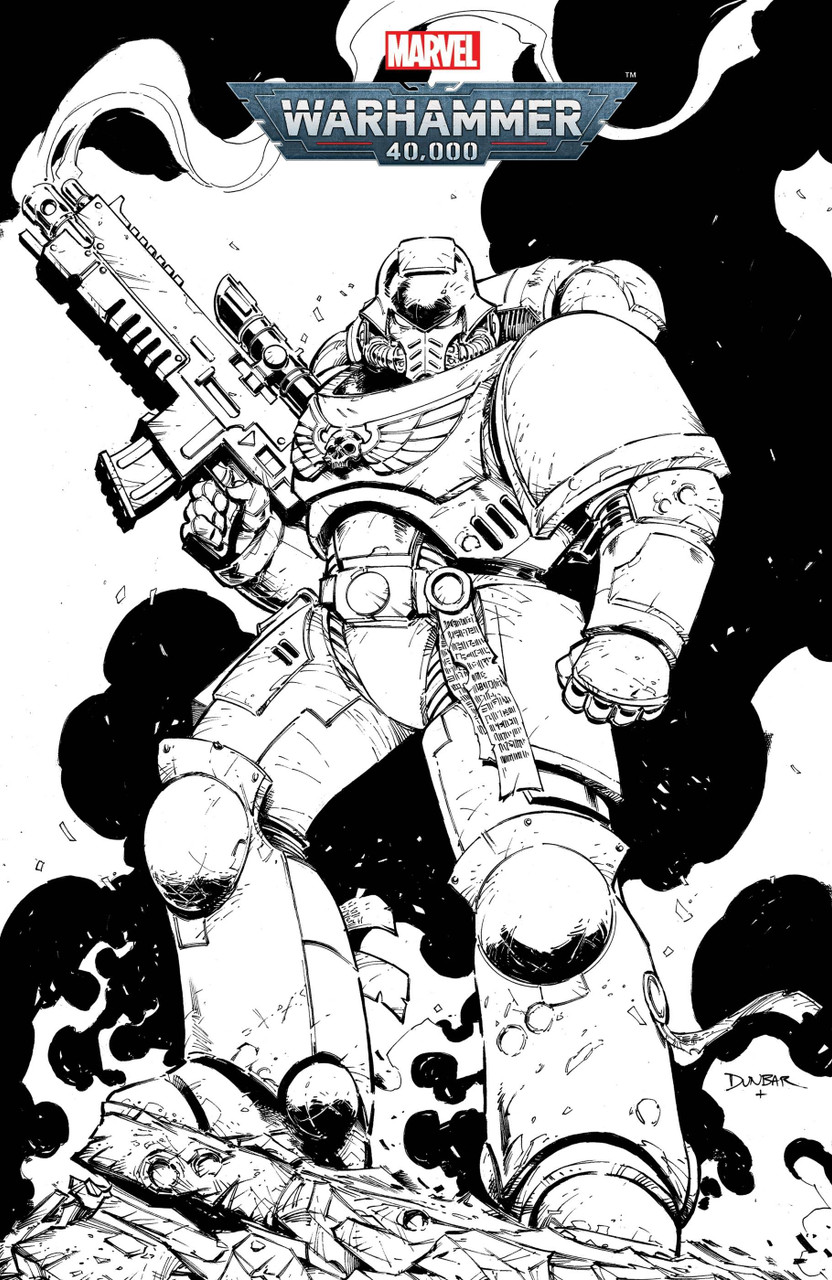 Warhammer 40k Marneus Calgar #1 - Variant Cover - Color Your Own
