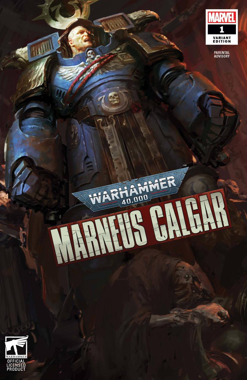 Warhammer 40k Marneus Calgar #1 - Variant Cover - Games Workshop