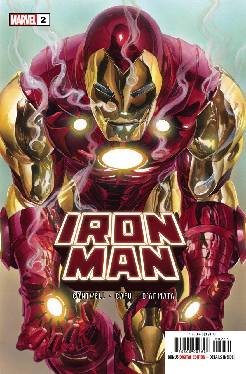 Iron Man #2 - Regular Cover - Alex Ross