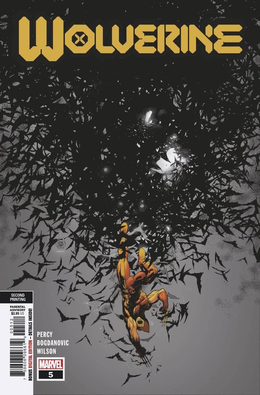 Wolverine #5 - Vol 7 - 2nd Printing - Variant Cover - Adam Kubert