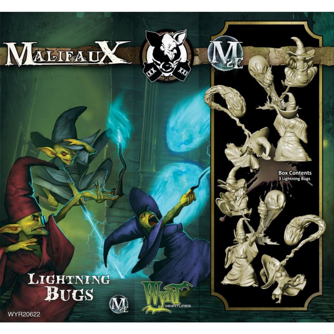 Malifaux Lightning Bugs - Gremlins - M3E Upgraded